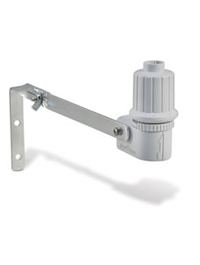 The RSD Series Rain Sensors offers flexible, multiple rainfall settings which are quick and easy to adjust with a twist of the dial. High-grade, UV-resistant body on an aluminum bracket easily resists the elements, ensuring hassle-free performance. An adjustable side vent ring allows the sensor to dry out once it collects water