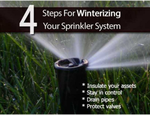 Four Steps to Winterize Your Sprinkler System