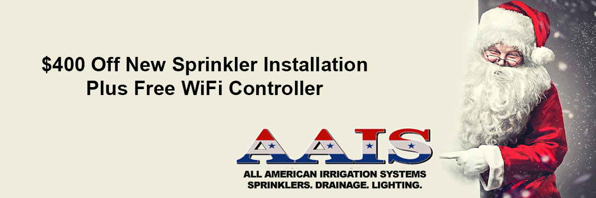 400 Off New Sprinkler Installation Plus Free Wifi Controller Financing Is Available